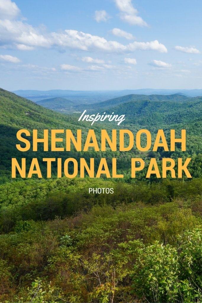 Inspiring Shenandoah National Park photos