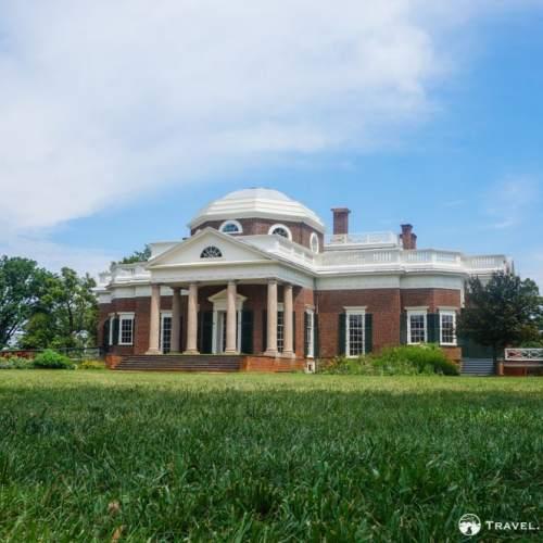 Monticello, Thomas Jefferson's home in Charlottesville