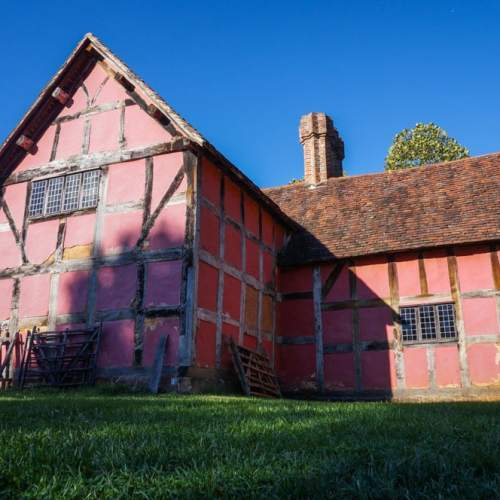 English Farmstead from the 17th century