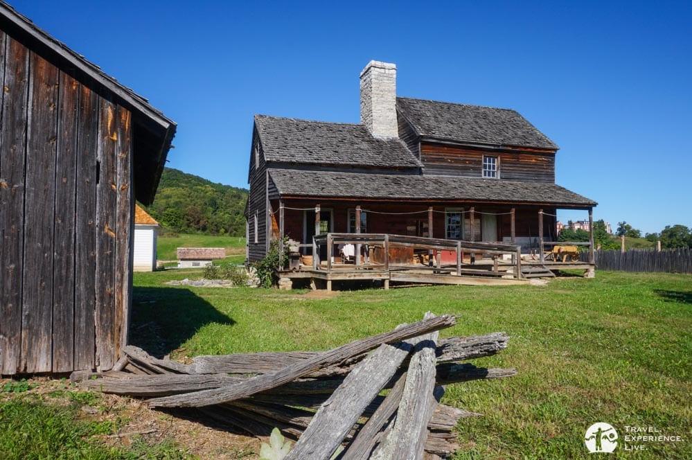 1850s American Farm, Frontier Culture Museum