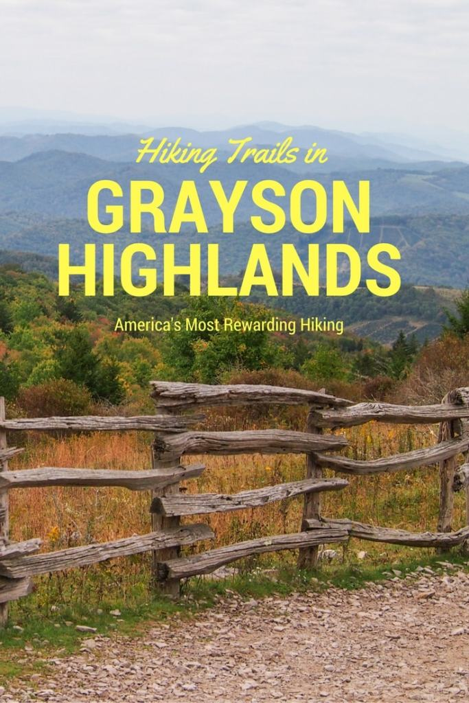 Hiking Trails in Grayson Highlands State Park, Virginia