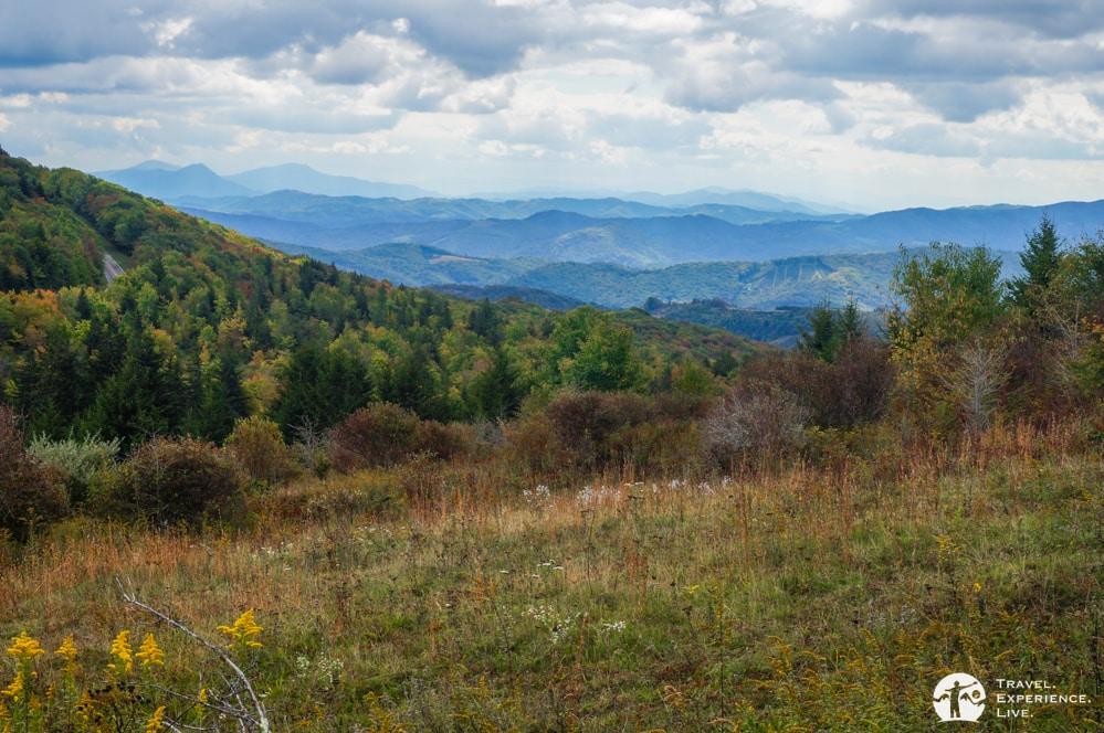 Rolling Blue Ridge Mountains