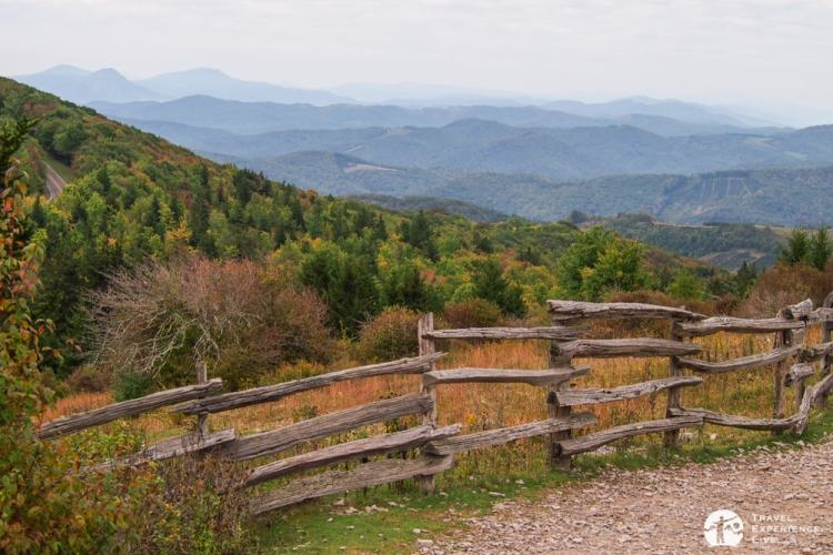 Hiking in Grayson Highlands State Park: Rhododendron Trail, Grayson Highlands State Park