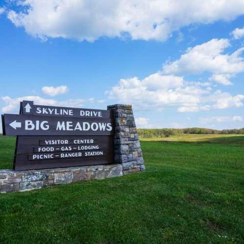 Big Meadows on Skyline Drive