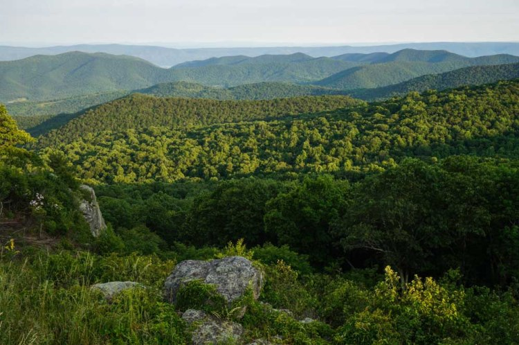Blue Ridge Mountains, Shenandoah National Park