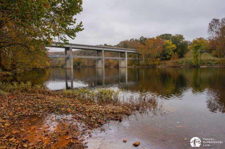 James River bridge, Blue Ridge Parkway