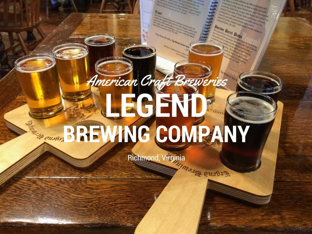 Legend Brewing Company in Richmond, Virginia