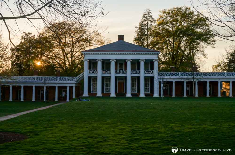 Pavilion at the University of Virginia