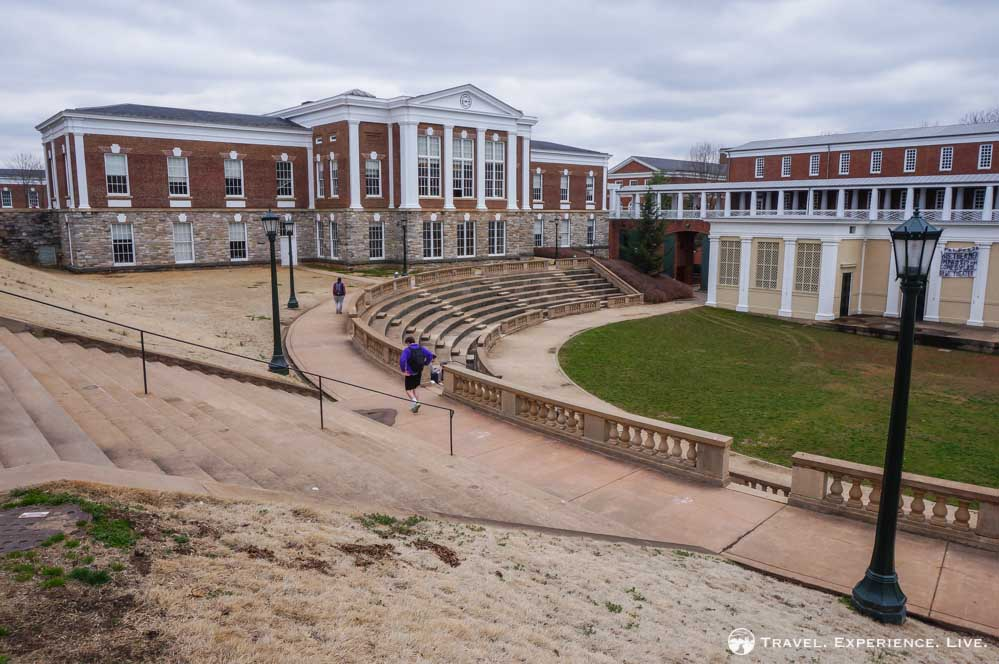 The Amphitheater at UVA is a popular event venue