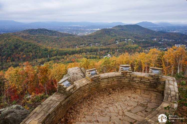 View Mill Mountain Overlook, Roanoke Mountain