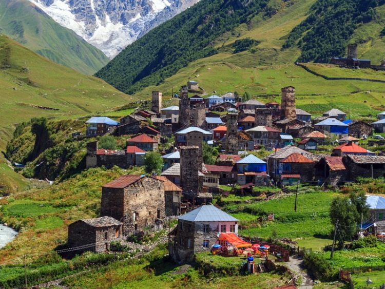 Mountain Holidays in the South Caucasus: Ushguli