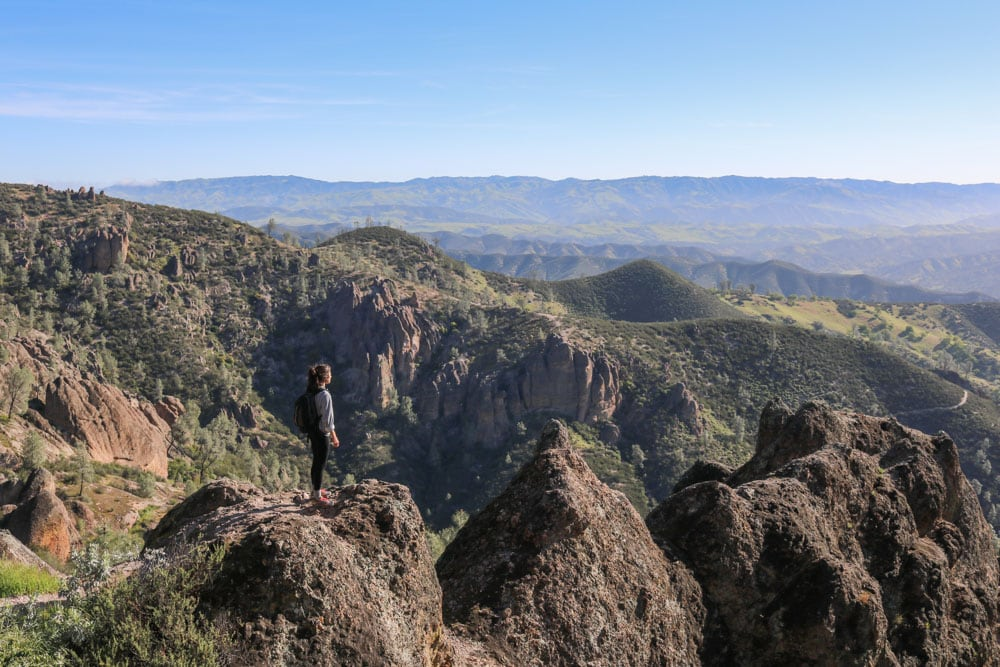 High Peaks Trail in Pinnacles National Park, California