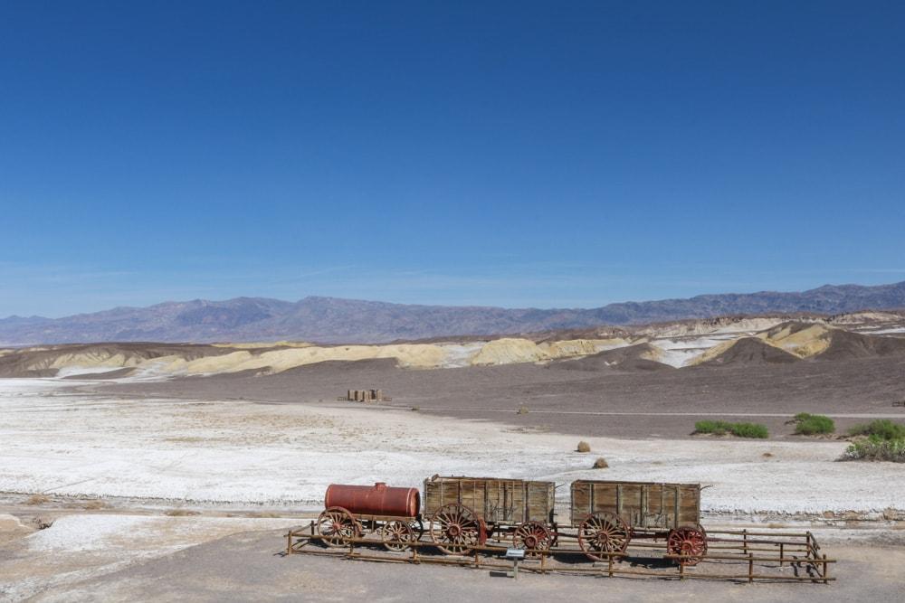 Harmony Borax Works in Death Valley National Park, California