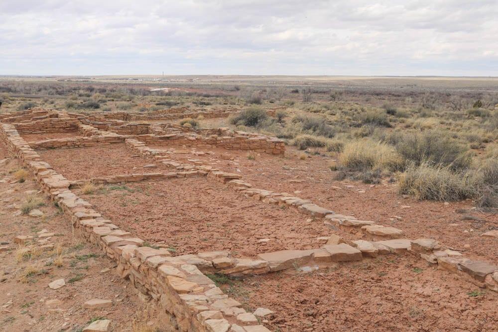 Puerco Pueblo ruins, Petrified Forest National Park