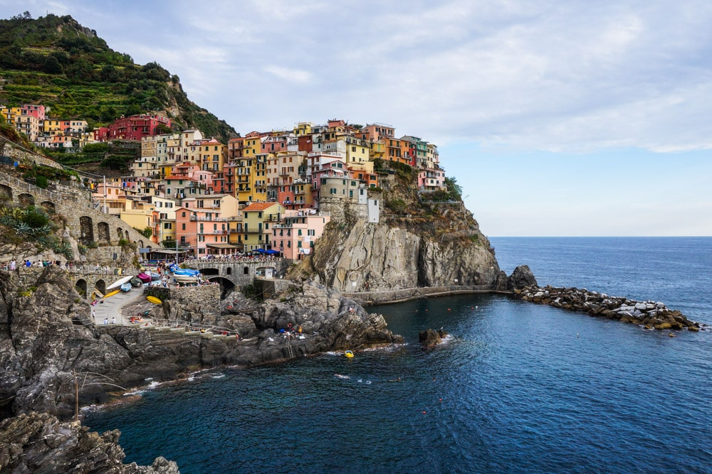 Manarola in Cinque Terre National Park, Italy - National Parks in Italy