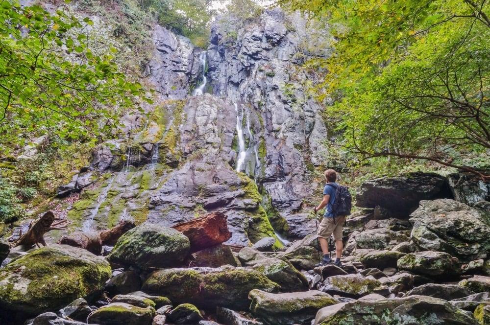 South River Falls in Shenandoah National Park, Virginia