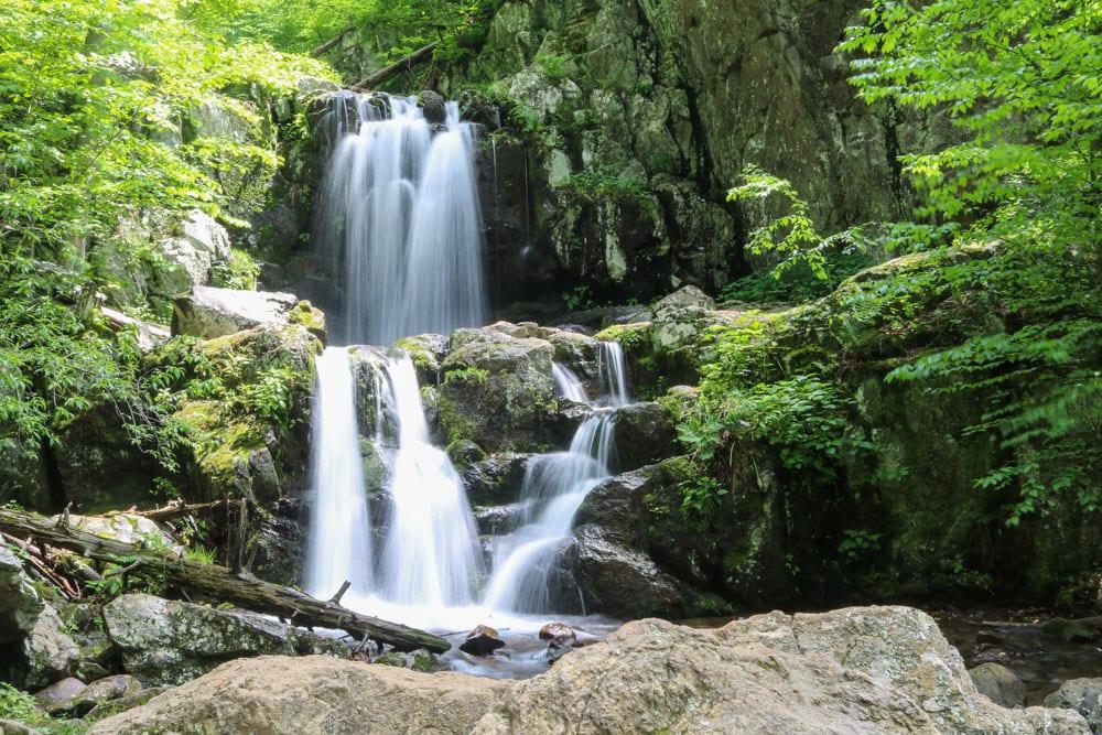 Upper Doyles River Falls, Shenandoah National Park, Virginia