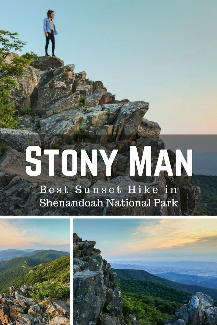 Hiking the Stony Man Trail, Best Sunset Hike in Shenandoah National Park, Virginia