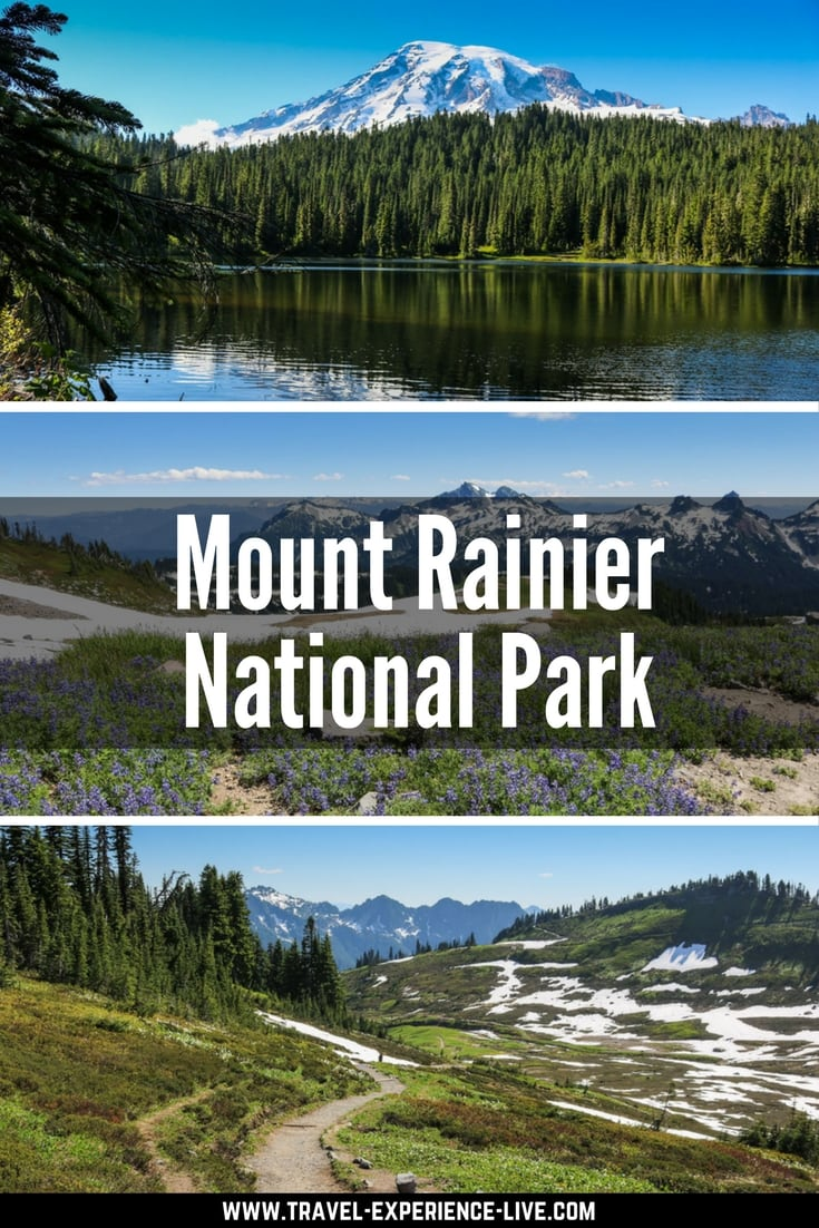 Mount Rainier National Park, Washington - Best Seattle Day Trips