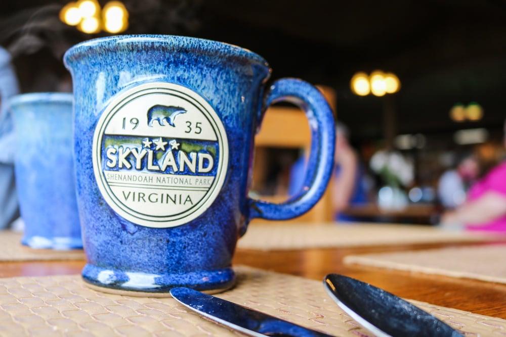 Skyland mug, Skyland Resort, Shenandoah National Park