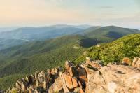 Hiking the Stony Man Trail, Shenandoah National Park, Virginia