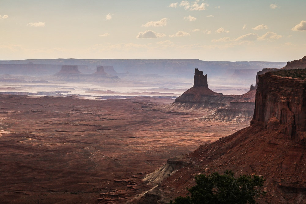 Island in the Sky canyon landscape, Canyonlands National Park, Utah