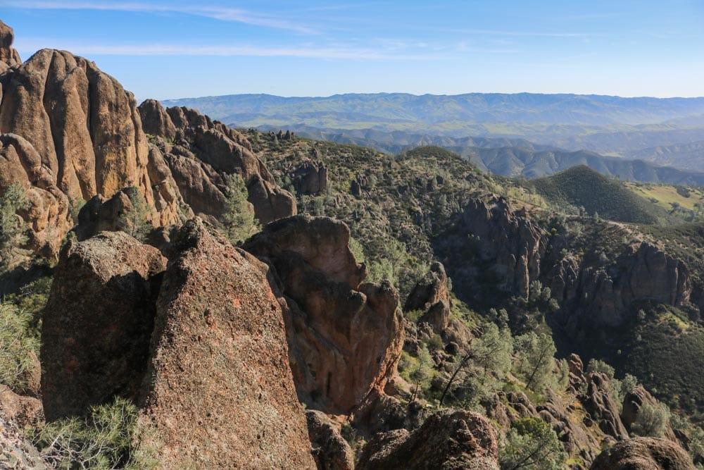 Pinnacles National Park rock formations