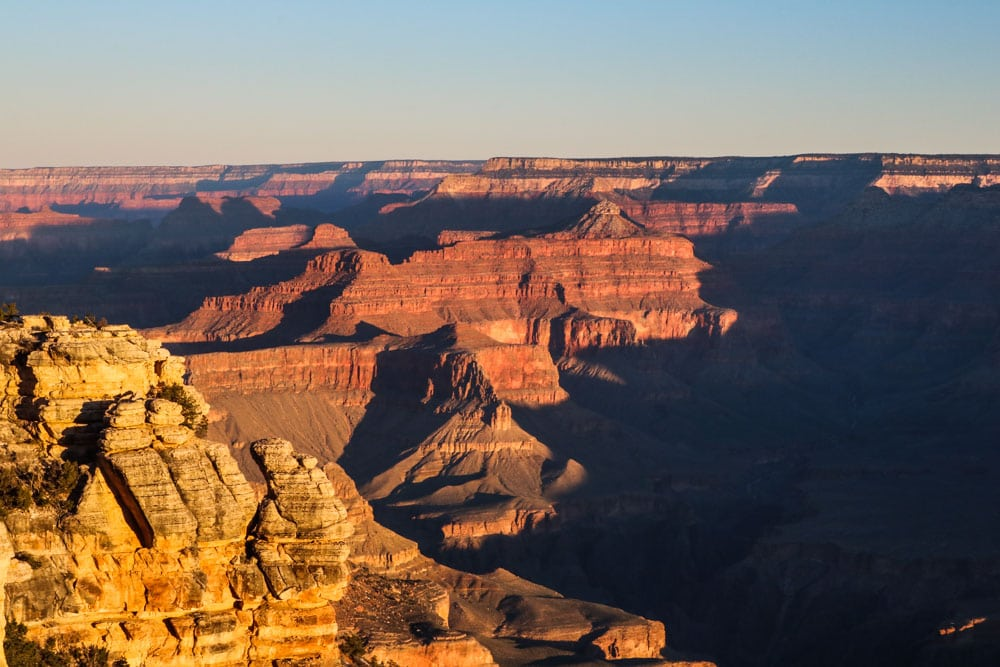 Sunrise, Grand Canyon National Park