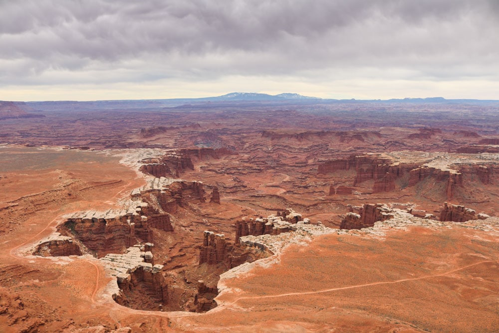 White Rim Overlook in Island in the Sky, Canyonlands National Park