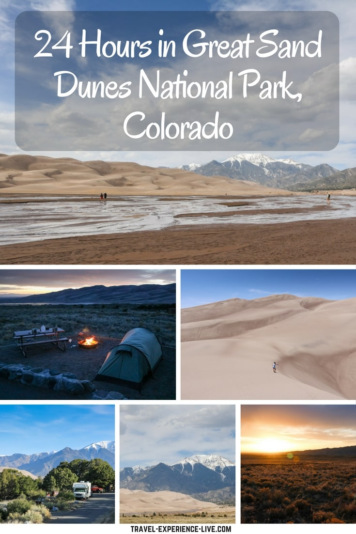 24 Hours in Great Sand Dunes National Park, Colorado, United States
