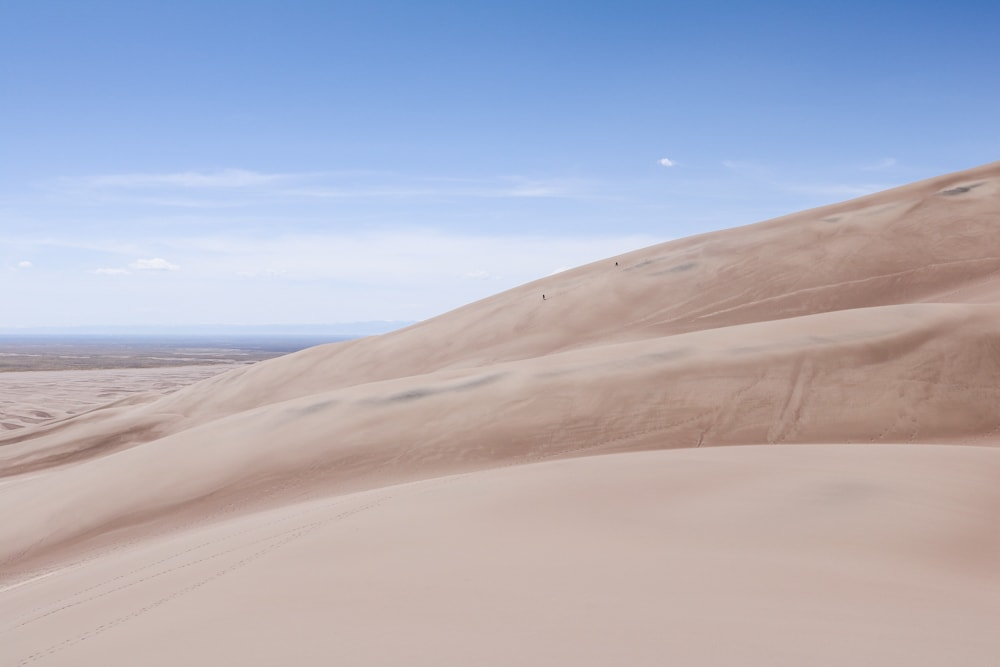 Sand boarders in Great Sand Dunes National Park