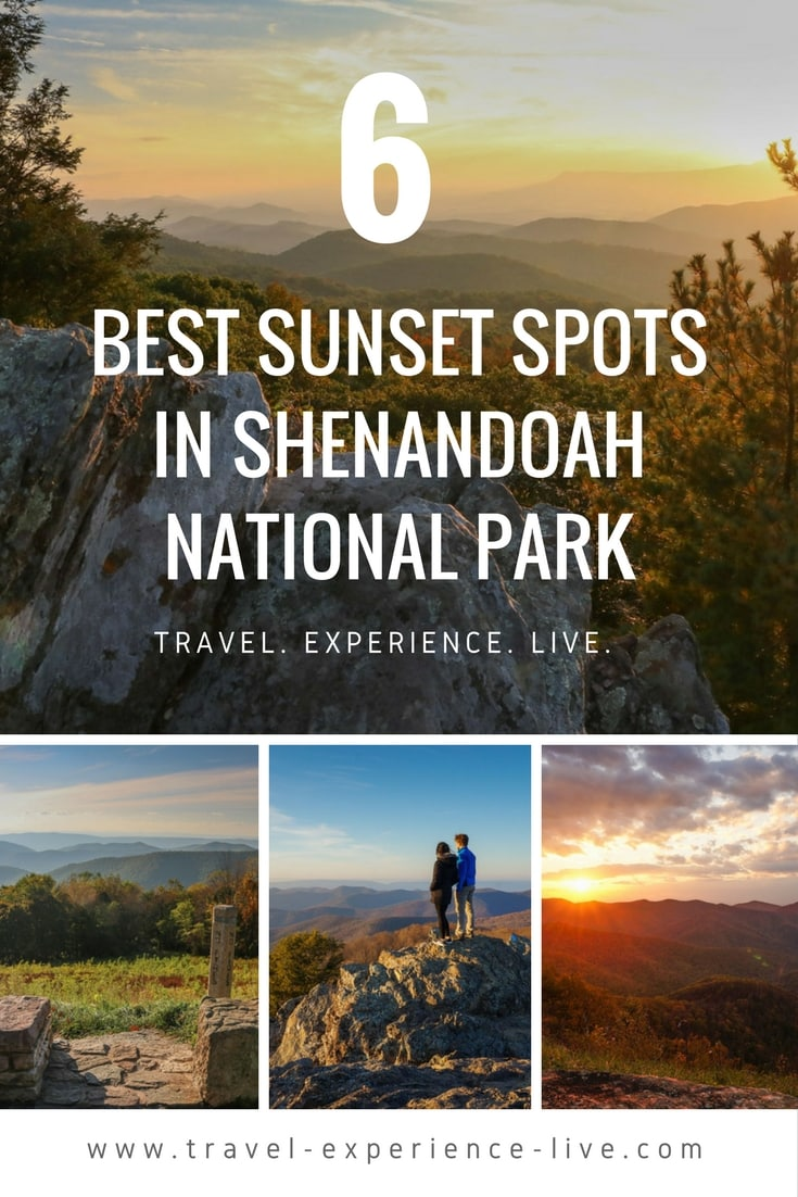 Best Sunset Spots in Shenandoah National Park, Virginia
