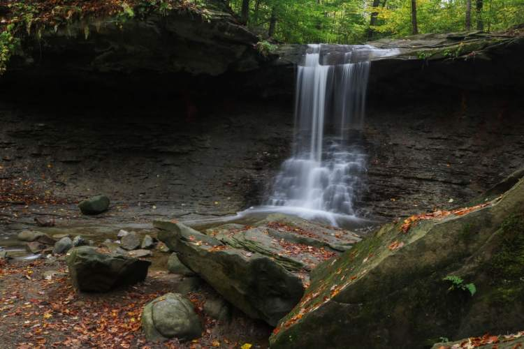 Blue Hen Falls - Cuyahoga Valley National Park Highlights - Ohio