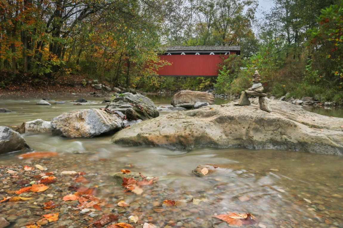 Everett Covered Bridge, Attractions in Cuyahoga Valley National Park, Ohio