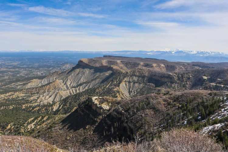 Park Point Overlook, Mesa Verde National Park