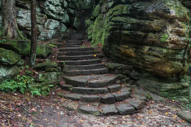 The Ledges Trail, Cuyahoga Valley National Park, Ohio
