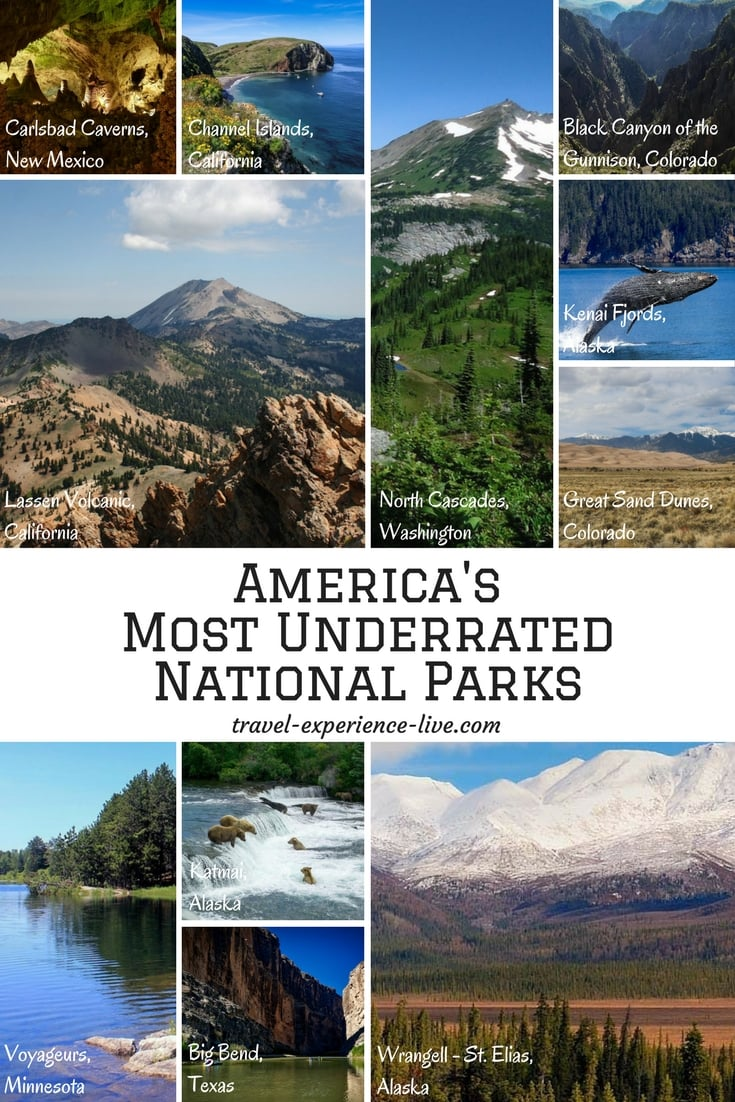 11 of America's Most Underrated National Parks