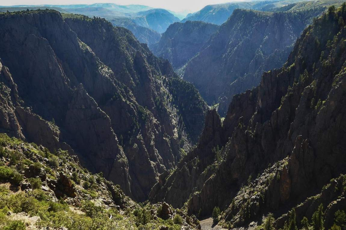 Black Canyon of the Gunnison National Park, Colorado - Least-Visited and Most Underrated National Parks in America