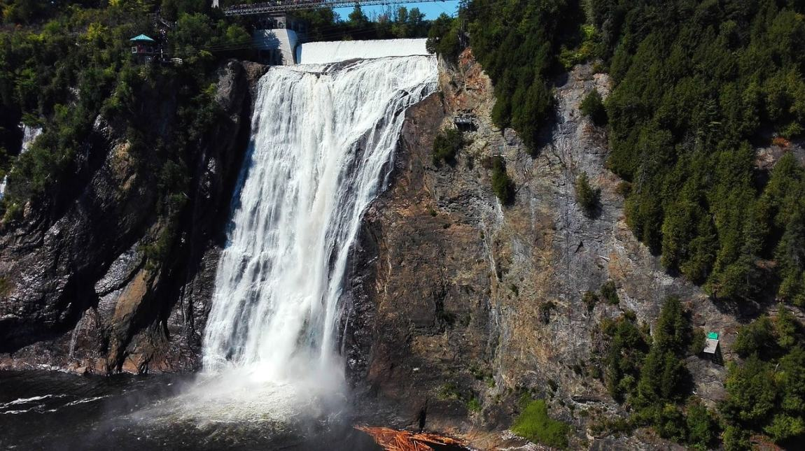 Montmorency Falls - Outdoor Places to Visit in Quebec