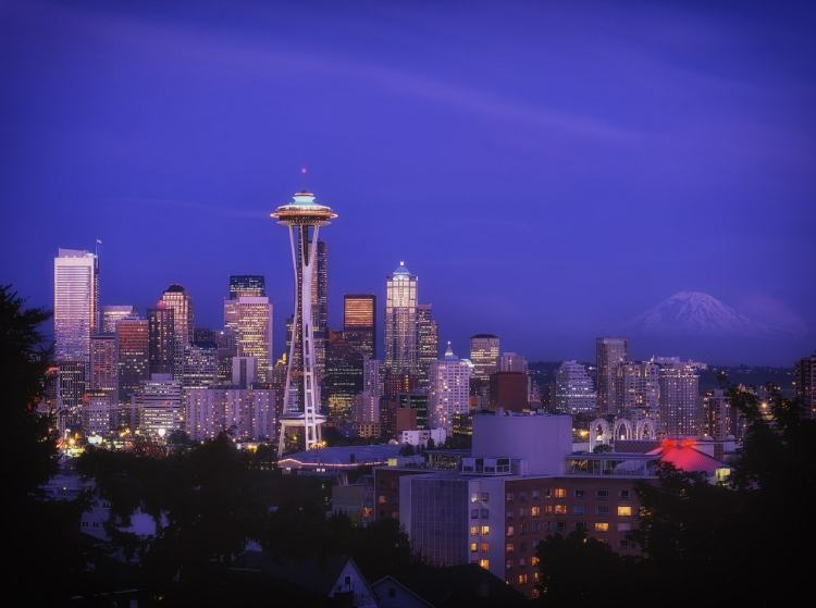 Seattle, Washington - National Park Gateway Towns