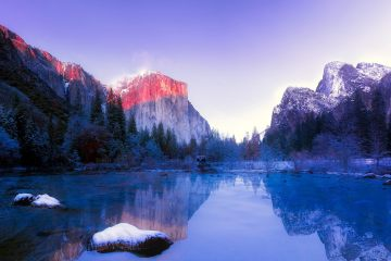 Yosemite National Park, California - Best USA National Parks for Snowshoeing