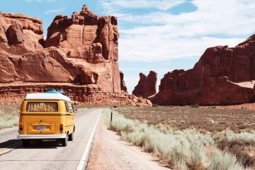 Arches Park Road, Arches National Park - Scenic Drives in USA National Parks