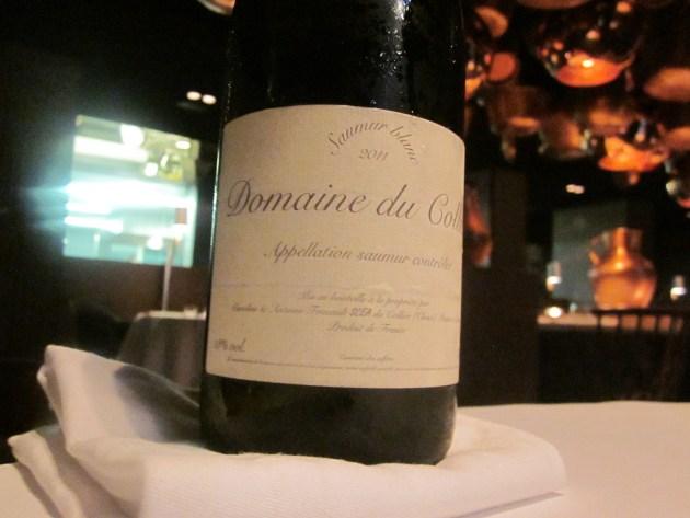 Saumur Blanc 20111