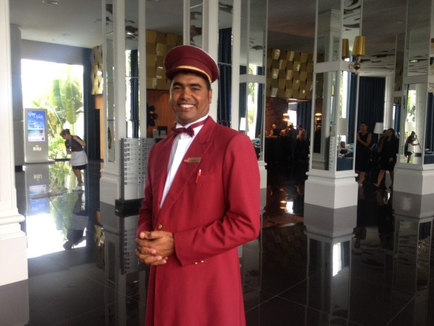 RIU Hotel Bellboy