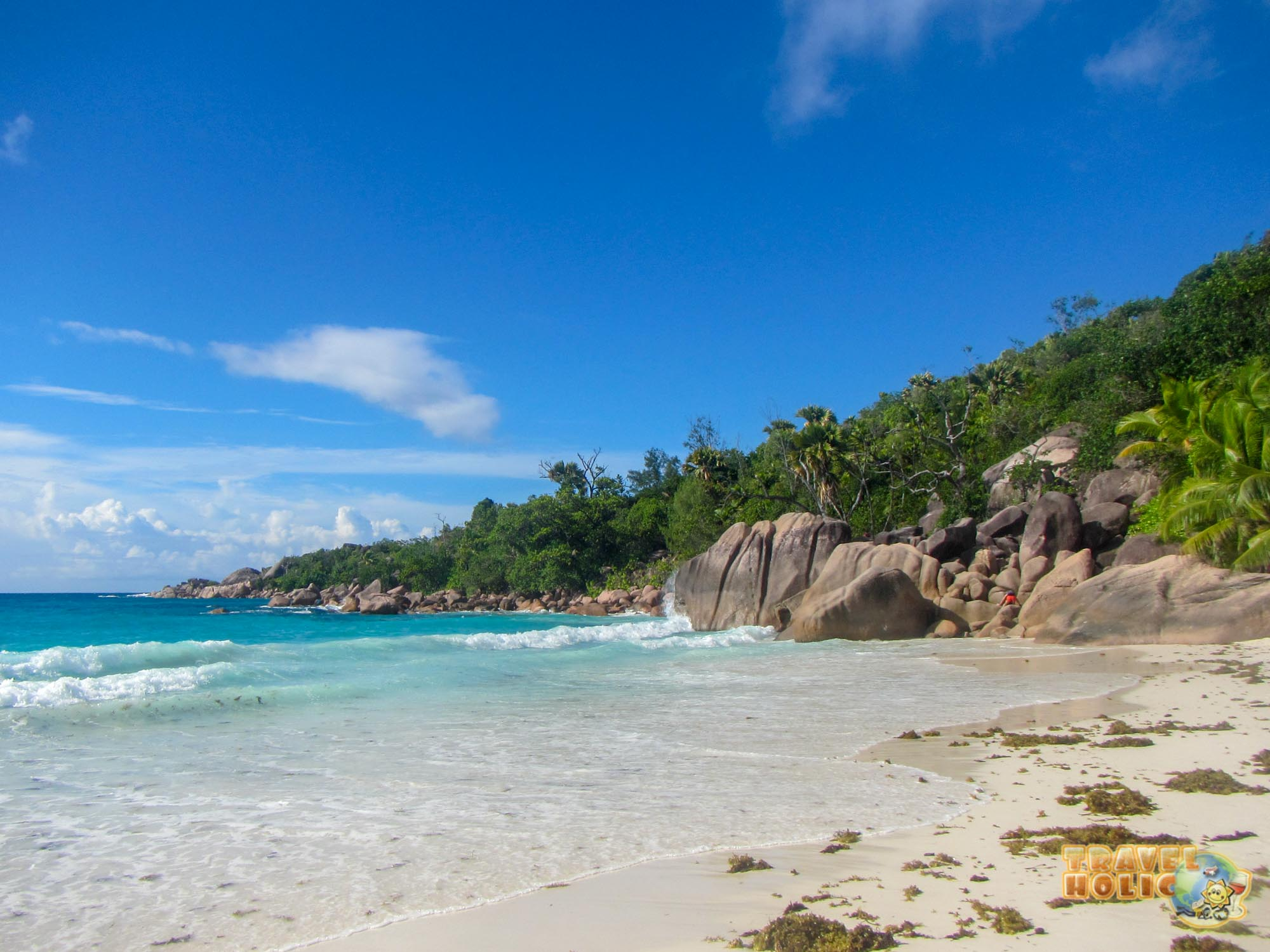 Plage de l'Anse Lazio, Seychelles