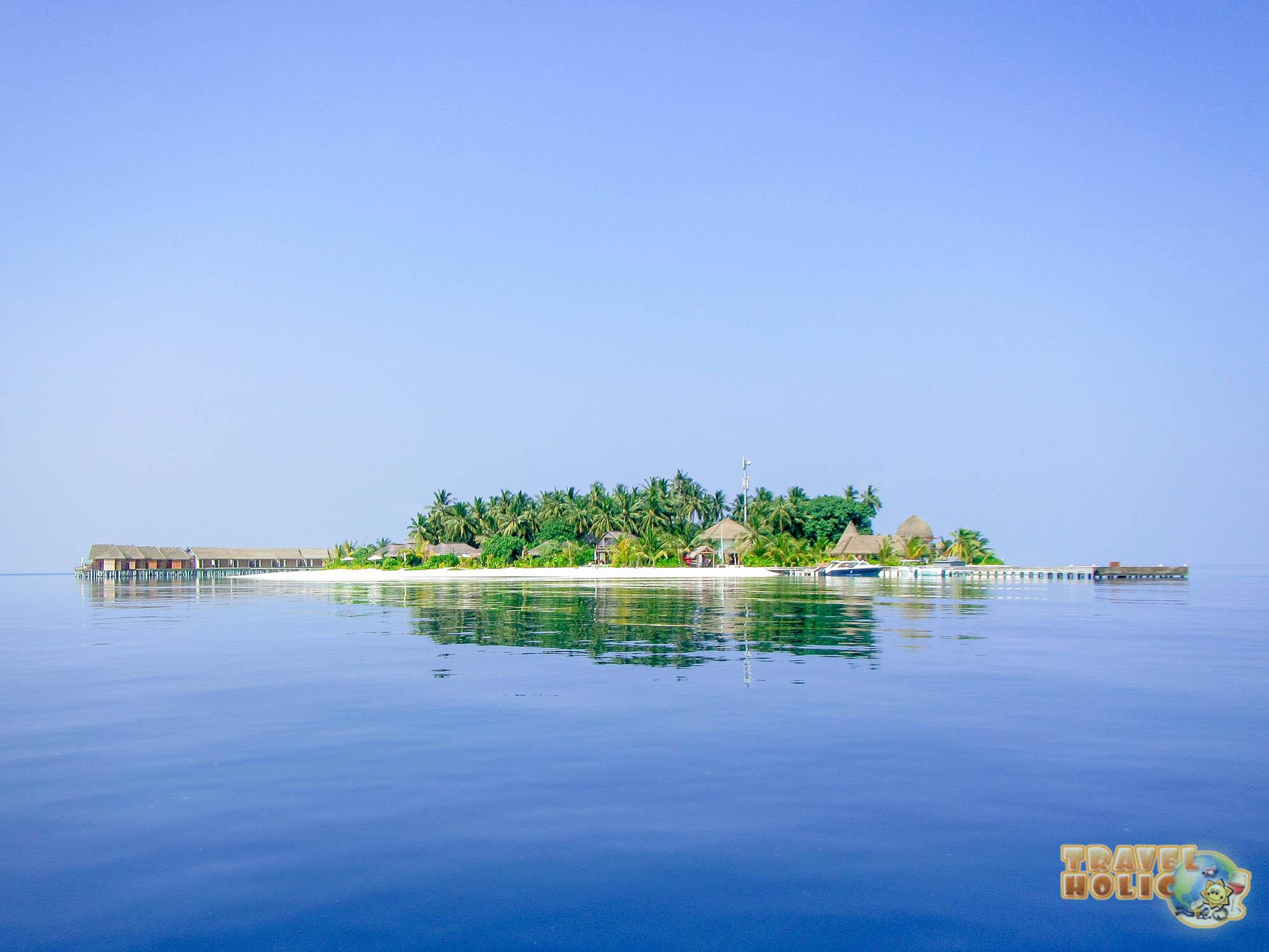 L'île du Kandolhu aux Maldives