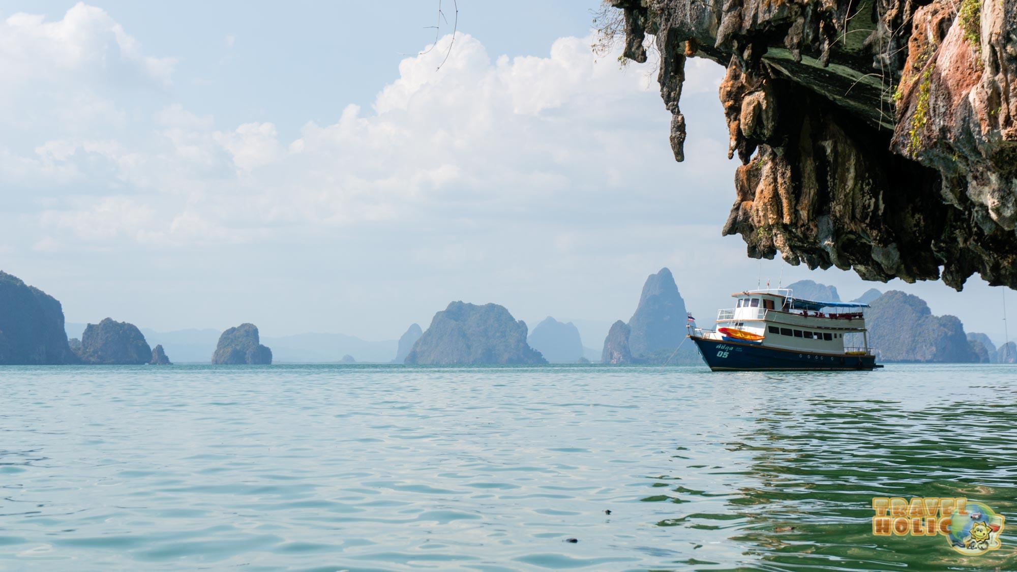 Baie de Phang Nga en Thaïlande