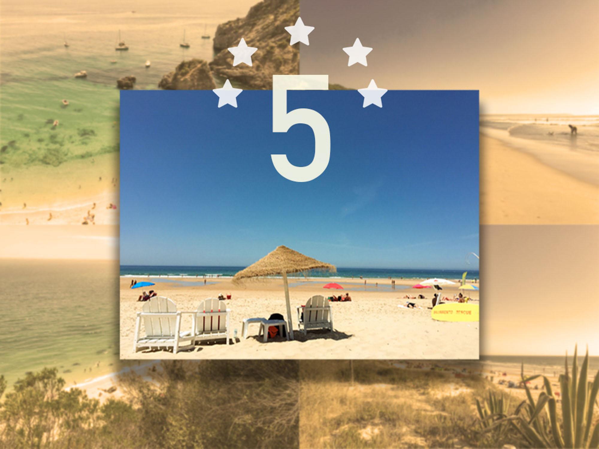 Top 5 des plages au sud de Lisbonne