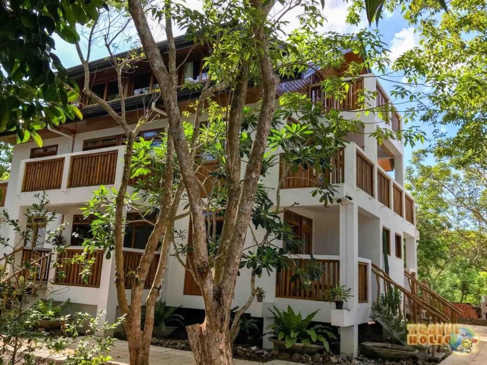Vue extérieure du Pahiluna Guesthouse, Danao Beach, Bohol