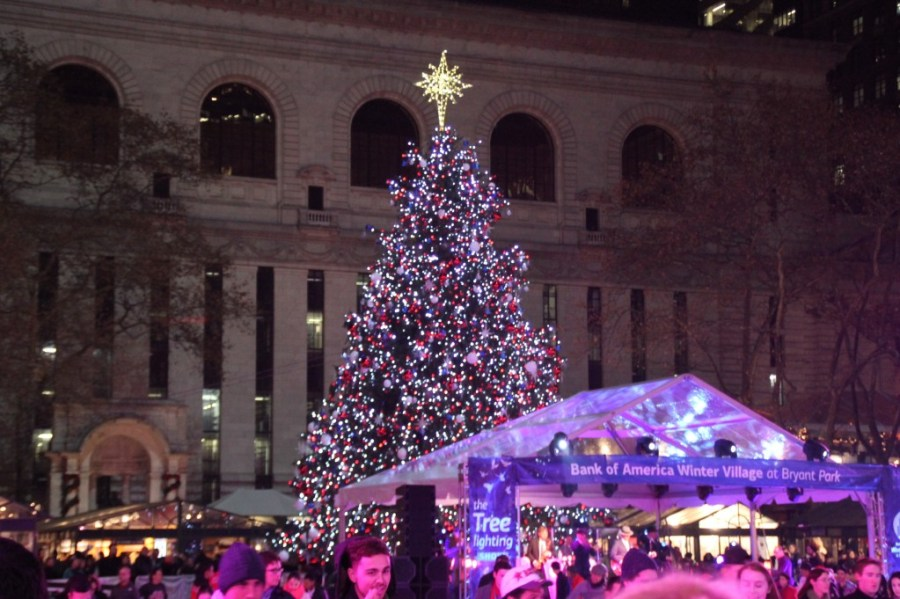 Bryant Park - Noël à New-York © Travel-me-happy.com